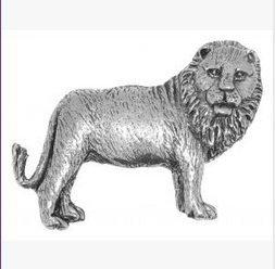 Confezione regalo Pewter Pin Badge-Spilla a forma di leone e confezione regalo per cravatta, sciarpa, cappello, cappotto o borsa