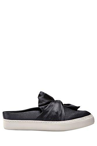 next Femme Chaussures De Skate Style Mules Avec Nœud Noir