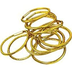 BRAID.BANDS SMALL GOLD/PACK48