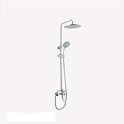 GZF mischbatterie für Dusche,Duschset, Mischventil, Wandhalterung, Hebbar, Handbrause