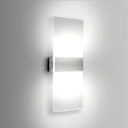 Led Wandleuchte 6W Moderne Wand Sconce UP Down Beleuchtung Innen Fr Wohnzimmer Schlafzimmer Wandbeleuchtung Cool White 6000 6500K
