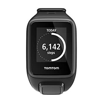 TomTom Runner 2 GPS Watch - Small Strap, Black/Anthracite