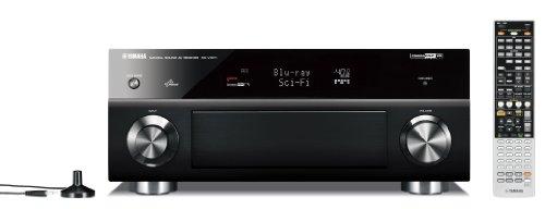 Yamaha RX-V 1071 7.2 AV Receiver (HDMI, Upscaler 1080p, 3D Ready, 165 Watt, Apple iPhone/iPod kompatibel, USB 2.0) schwarz 1080p Av-receiver
