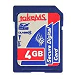 takeMS HighCapacityCard SDHC 4GB Class4