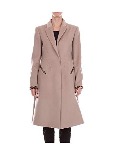 Blumarine Damen 56433BEIGE Beige Wolle Mantel