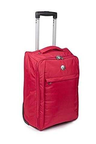 Sacs de cabine pour Easyjet chariot de Voyage valise pour la plupart des compagnies aériennes - porter sur les sacs (rouge)