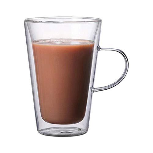 Freedomanoth Doppelwandige Gläser Thermogläser Espressotassen Isolierung Glasbecher Handgemacht Sofort Bis Zu 180 ° C Standhalten
