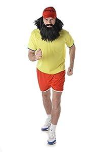 Karnival Costumes- Long Distance Runner Disfraz, Multicolor, large (82015)