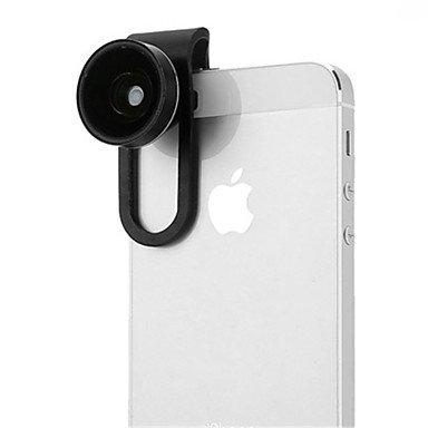 793a3236a26 ZCYAn ZCYAn Manzana iPhone 4/4S - Negro/Blanco - 10X y Superiores - Lente  Tele Objetivo ( Lentes Con Estuche ) -.-