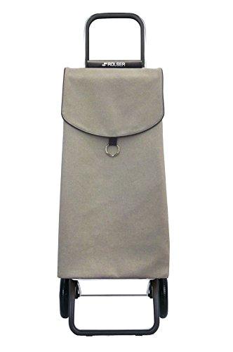 ROLSER Einkaufstrolley - Einkaufsroller - Volumen 41 Liter, Gewicht 1,9 kg, Tragkraft 50 kg