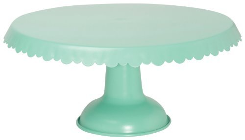 Stand Tin (Now Designs Tin Cake Stand, Aqua by Now Designs)