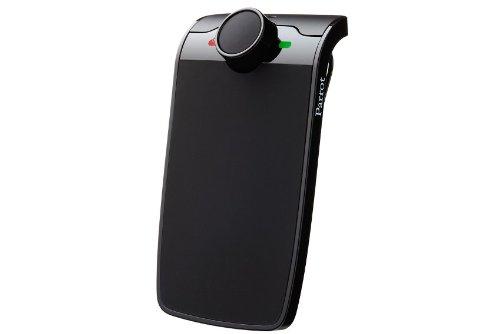 Parrot MINIKIT+ - Kit manos libres Bluetooth (con control por voz), negro