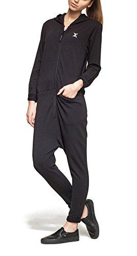 One piece P-ba16101b, Combinaisons Femme Noir - Noir