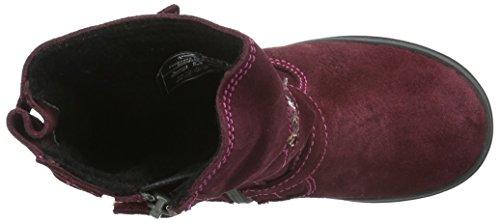 Richter Kinderschuhe Ilva, Bottes et bottines à doublure chaude fille Rose - Pink (Port/Fuchsia 7401)