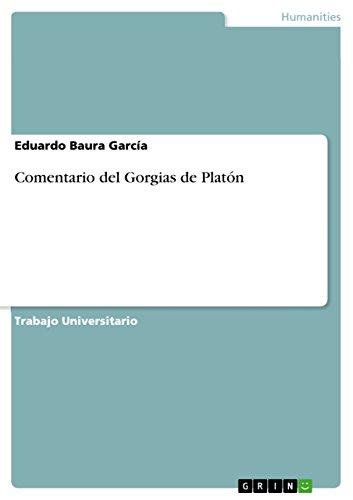 Comentario del Gorgias de Platón