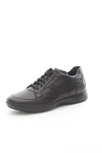 Lion 8461 Sneakers Uomo Pelle Nero Nero 43