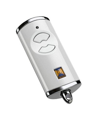 Hörmann Handsender HSE2 868-BS BiSecur, praktische 2-Kanal-Fernbedienung für Garagentore, selbstlernende Codierung, hochwertig verarbeitet, 128-Bit Verschlüsselung, weiß, Art.-Nr. 436755