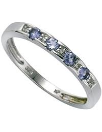Diamonds by Ellen K. Damen-Ring 8 Karat (333) 0.025ct weißgold Diamant 0.025ct weiß 0.025ct 360370241-2
