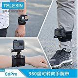 FEIMUOSI GoPro Handgelenk Arm Strap Hand Halterung mit Daumen Schraube 360 Grad Sport Kamera Zubehör für GoPro Hero 6 5 4 3 + 3 2 1 (for GoPro Wrist Strap)