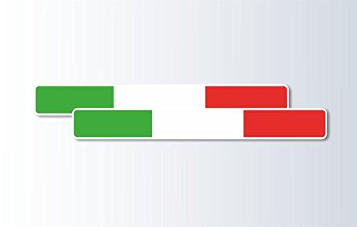 con bandiere-Gruppo di 4 motivo Jamaica Adesiva//decalcomania misura Extra piccola in vinile