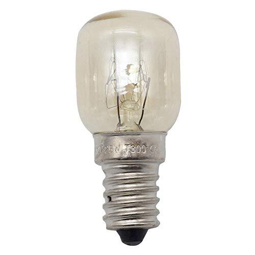 Homekit 8 Himalaya-Salz-Lampen, E14, Original-Ersatz Glühbirnen, 25 Watt -