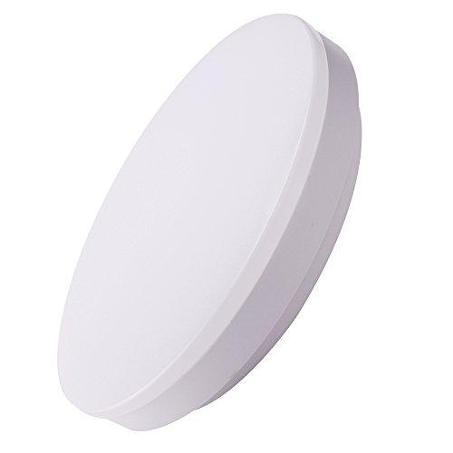 SOLLA LED Deckenleuchte Deckenleuchte (240 mm Durchmesser / 18W / 1440 Lumen) Kaltweiß IP44