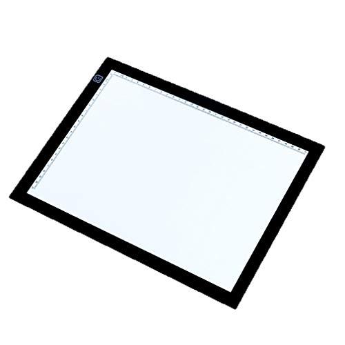 CBDJNT Copy Station Luminous Board, Integrierter LED-Lichtstreifen A4, Panel Mit Hoher LichtdurchläSsigkeit, Linyi-Tischleuchte, Touch-Dimmung, Geeignet FüR Innen- Und AußEnbereiche (Design-kopie-papier)