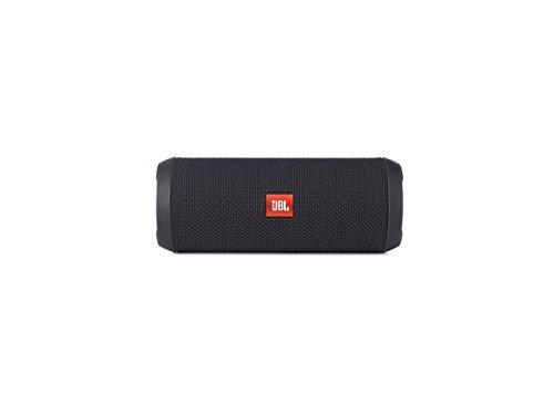 JBL Flip 3 Spritzwasserfester Tragbarer Bluetooth-Lautsprecher mit außerordentlich Kraftvollem Klang - Sonderausgabe - Schwarz (Lautsprecher Computer Wireless)