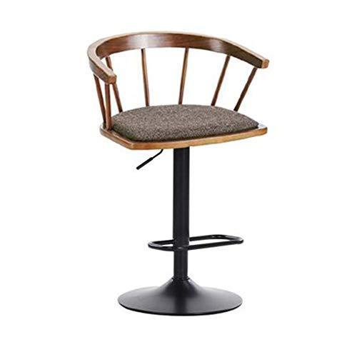 YNGJUEN Mode Lift Drehstuhl, Einfache Baumwolle Und