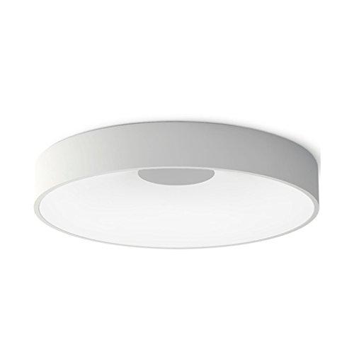 HUANGDA Kreative Persönlichkeit Runde Deckenleuchte Moderne Minimalistische Wohnzimmer Esszimmer Korridor Gang LED Deckenleuchte (Größe : L)