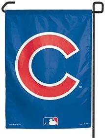 MLB Chicago Cubs C Logo Garden Flag, 11