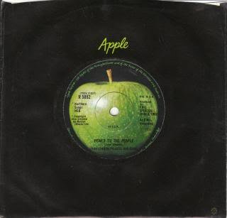 Plastic Ono Band, The - Power To The People / Open Your Box - Apple Records -