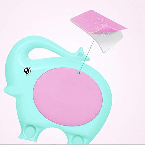 Elefant-Typ niedlich Kinder-Badetuch Kinder Haut Körper Bad Blume Bürste Kostenlos Natürliche Peeling-Kunststoff-Peeling-Massage Premium Dry Brushing für glühend mehr jugendlich,Pink