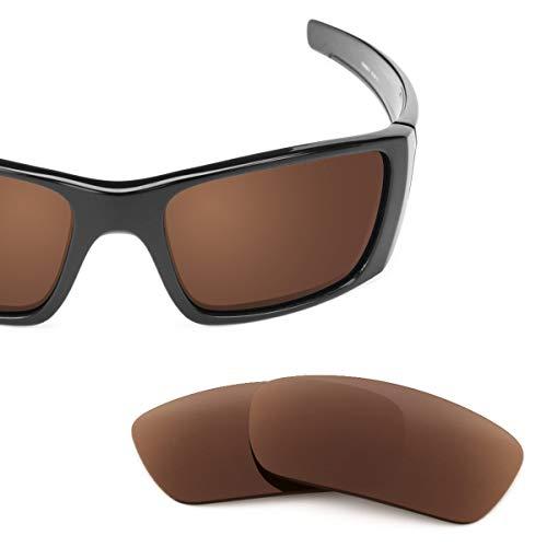 sunglasses restorer Ersatzgläser für Oakley Fuel Cell, Polarisierte Brown