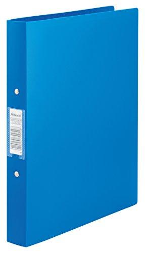 rexel-13422bu-25-mm-a4-polyprop-2-or-budget-ring-binder-blue-pack-of-10