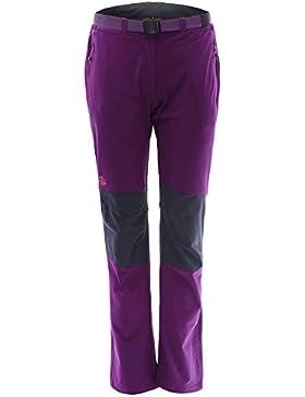 Ternua ® Freyder W Pantalones, Mujer, Morado (Dark Violet), M