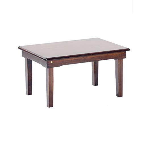 MSF Table Pliante Bureau Portable en Bambou Pliant Table de Plateau canapé lit Ordinateur Portable (Taille : 70 * 50 * 35cm)