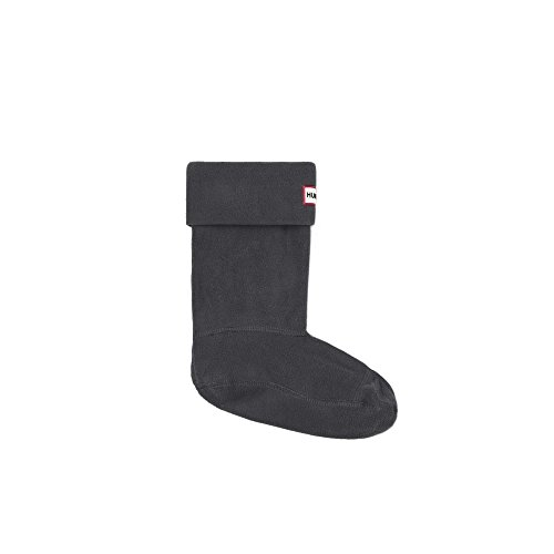 Hunter Boot Sock Short - Dark Slate (Grey) Accessories Socks Large