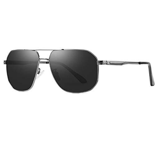 LIUQIAN Sonnenbrille Herren Polarisierte Sonnenbrille der Männer, die Bunte Sonnenbrille-quadratische Sonnenbrille fährt
