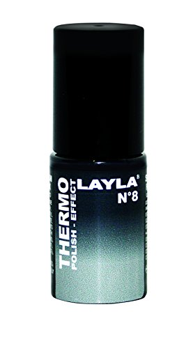 Layla Cosmetics, Smalto Thermo, N. 8
