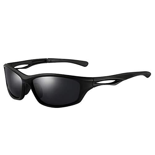 Unisex Sonnenbrille, Welltop Herren Polarisierte Fahren Sonnenbrille UV400 Fahrerbrille TAC Brille für Angeln Fahren Laufen Golf Radfahren