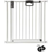 Befestigung durch Druck 80 x 3 x 105 cm extrahoch BabyDan Türschutzgitter