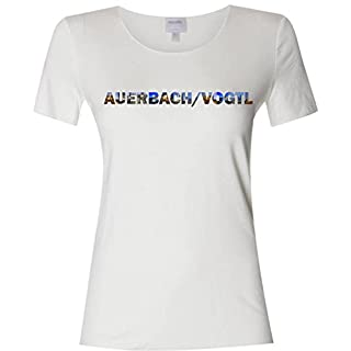 INDIGOS UG T-Shirt With City Names Auer Bach - White - XL