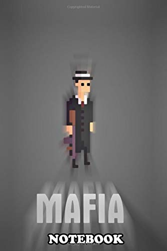 "Notebook: Mafia Pixels , Journal for Writing, College Ruled Size 6"" x 9\"", 110 Pages"