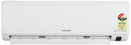 Samsung 1 Ton 3 Star Inverter Split AC (AR12MV3HEWK, White)