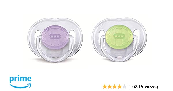 Baby SOOTHER Orthodontic PACIFIER Dummy BPA FREE Hygiene Blue Pink Yellow NEW UK