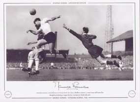 Maurice-Norman-Tottenham-Hotspur-V-Blackburn-Rovers-1960-Signed-Limited-Edition