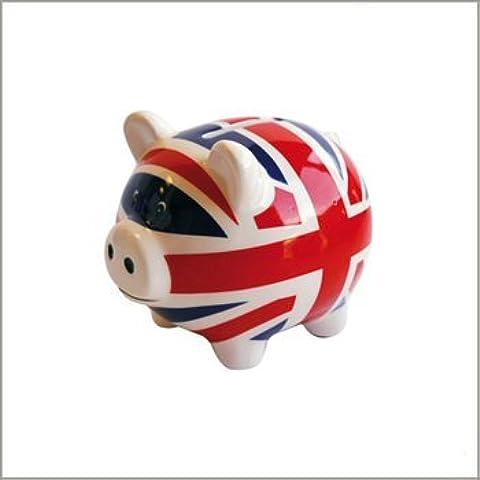 UNIÓN FLAG INGLÉS GUARRA PIG CAGNOTTE JACK LONDON LONDRES