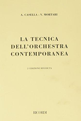 La tecnica dell'orchestra contemporanea