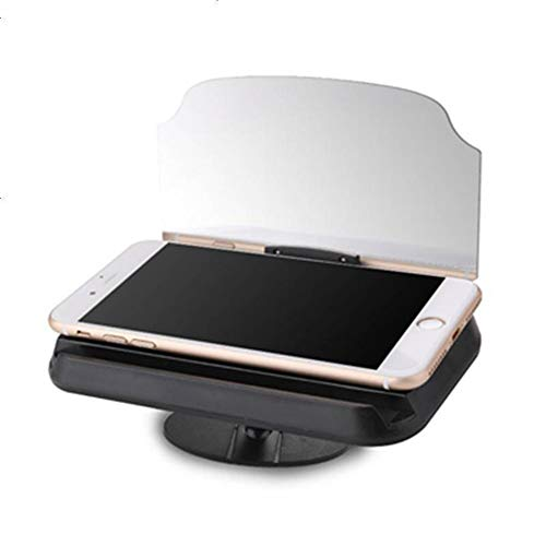 ZRK Neues Seat Cushion Black Car Mobile Phone Navigation Bracket Car Head-Up Display Hud Direct-Vision High-Definition-Projektionsfunktion Instrument Panel Universal High Definition Panel